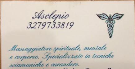 ROMA Francesco massaggiatore spirituale corporeo mentale