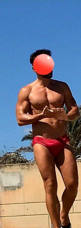 ROMA Alex XXL maschio italiano bisex realmente super + VIDEO