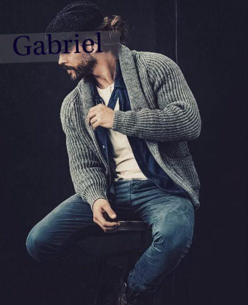 ROMA Gabriel Italiano attivo e dominante, superdotato vero